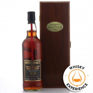 Macallan 1938 Gordon and MacPhail 65 Year Old Speymalt / includes Experience