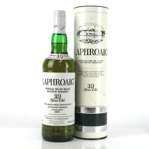 Laphroaig 10 Year Old 1980s / Swift & Moore Import