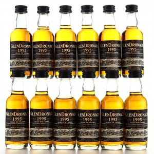 Glendronach 1995 PX Finish 20 Year Old Miniatures x 12