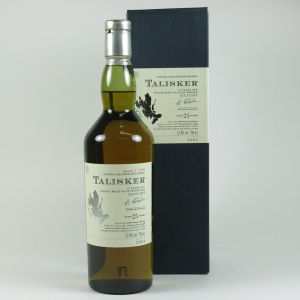 Talisker 25 Year Old 2004 Release front