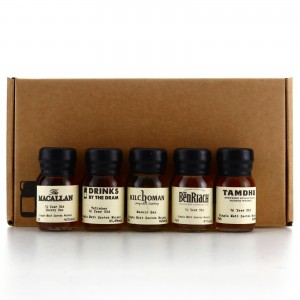 Single Malt Drinks by the Dram Samples x 5 / includes Macallan