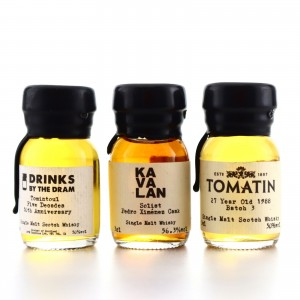 Single Malt Miniatures x 3 / Including Kavalan