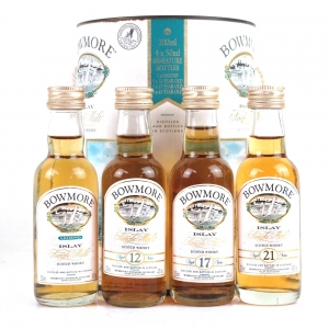 Bowmore Miniature Collection / Legend, 12, 17 and 21 Year Old 4 x 5cl