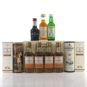 Miscellaneous Miniature Selection x 7 / includes Macallan Amber