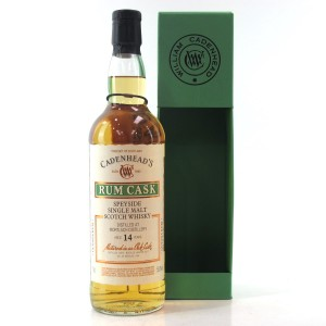 Mortlach 2003 Cadenhead's 14 Year Old Rum Cask