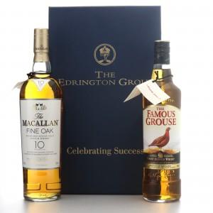 The Edrington Group Celebrating Success 2 x 70cl / Macallan Fine Oak & Famous Grouse