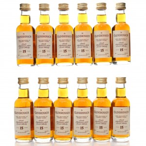 Glendronach 15 Year Old 1990s12 x 5clMiniatures