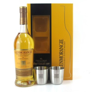Glenmorangie 10 Year Old Gift Pack / includes 2 x Craftman's Cups