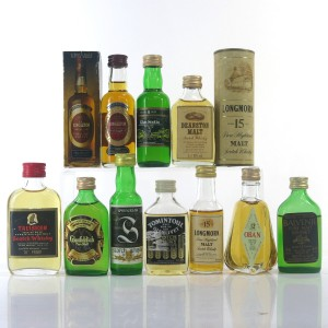 Single Malt Miniature Selection 10 x 5cl