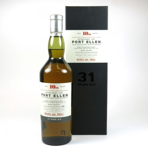 Port Ellen 1978 31 Year Old 10th Release front