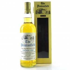 Bowmore 1980 Prestonfield 24 Year Old