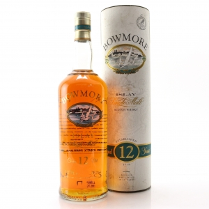 Bowmore 12 Year Old Screen Print 1 Litre 1990s
