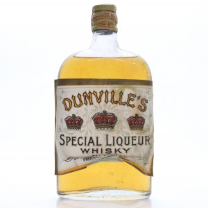 Dunville's Special Liqueur Whisky Half Bottle 1948 Rotation