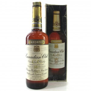 Canadian Club 6 Year Old 1980s