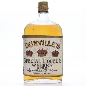 *MOVE Dunville's Special Liqueur Whisky Half Bottle 1948 Rotation