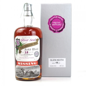 Glen Keith 1991 Silver Seal 18 Year Old Magnum 1.5 Litre