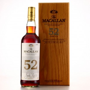 *Macallan 52 Year Old 2018 Release - Do not show bottle number