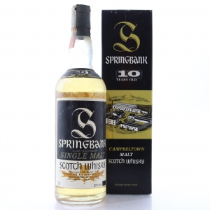Springbank 10 Year Old 1980s / Sutti Import