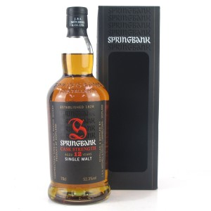 Springbank 12 Year Old Cask Strength / 52.3%