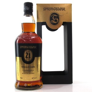 Springbank 1995 Single Cask 21 Year Old / Distillery Open Day 2017