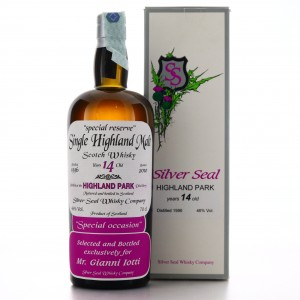 Highland Park 1996 Silver Seal 14 Year Old / Selected for Gianni Iotti