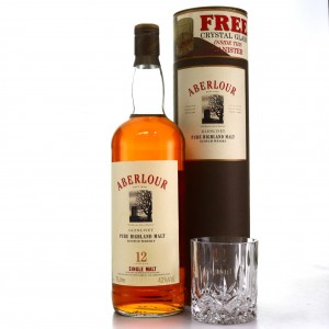 Aberlour 12 Year Old 1 Litre with Glass