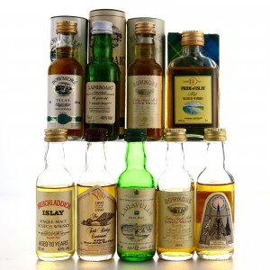 Islay Miniatures x 9