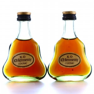Hennessy XO Cognac Miniatures x 2