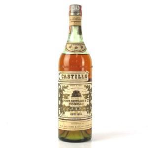 Castillon 12 Year Old 3 Star Cognac 1940s / US Import