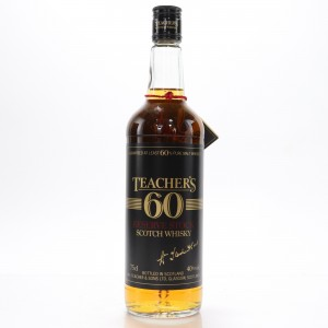 Teacher's 60 Reserve Stock 1980s