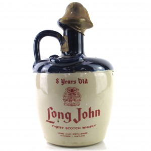 Long John 8 Year Old Decanter 1980s