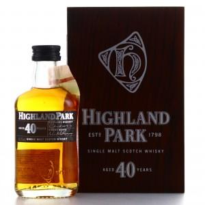 Highland Park 40 Year Old Miniature