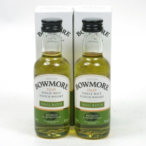 Bowmore Small Batch Miniatures 2 x 5cl