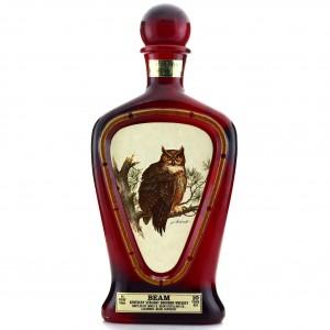Beam 10 Year Old Kentucky Straight Bourbon Decanter / Horned Owl