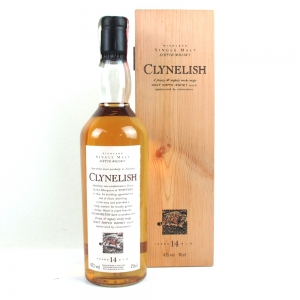 Clynelish 14 Year Old Flora and Fauna / Wooden Box
