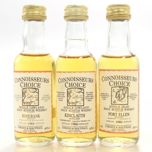 Gordon and MacPhail Closed Distillery Miniature Selection 3 x 5cl