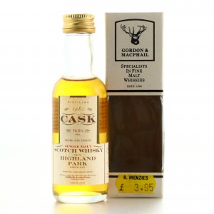 Highland Park 1982 Gordon and MacPhail Cask Strength Miniature