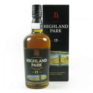 Highland Park 15 Year Old Front