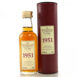 Macallan 1951 Select Reserve Miniature 5cl
