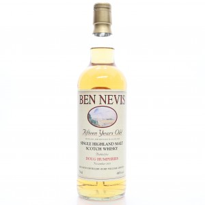 *JANUARY Ben Nevis 1996 Private Cask 15 Year Old / Doug Humphries