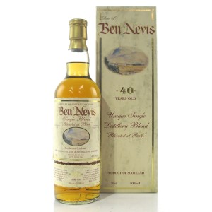 Ben Nevis 1962 Single Blend 40 Year Old