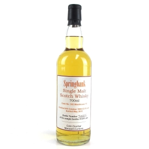 Springbank 1999 Private Cask Sample Bottle