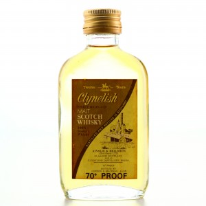 Clynelish 12 Year Old Ainslie and Heilbron Miniature 1970s