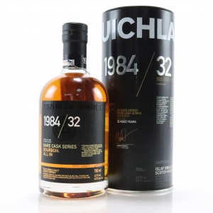Bruichladdich 1984 Rare Cask Series 32 Year Old / All In - Signed