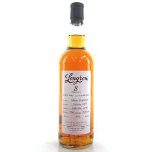 Longrow 2001 Shiraz Cask 8 Year Old