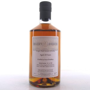 Arran 1998 Whisky Broker 20 Year Old