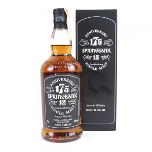Springbank 175th Anniversary 12 Year Old