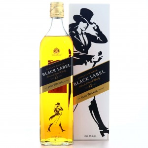 Johnnie Walker Black Label 12 Year Old Jane Walker 75cl / US Import