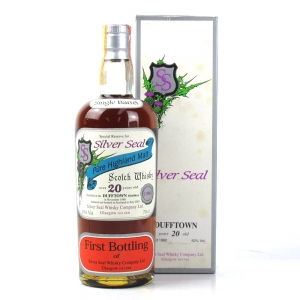 Dufftown 1980 Silver Seal 20 Year Old / First Bottling