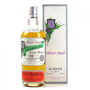 Bladnoch 1979 Silver Seal 22 Year Old / First Bottling
